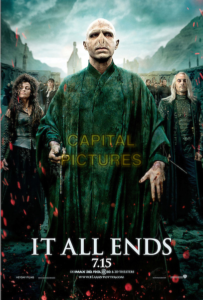 ONE SHEET POSTER ART.in Harry Potter and the Deathly Hallows: Part 2 .*Filmstill - Editorial Use Only*.CAP/FB.Supplied by Capital Pictures.