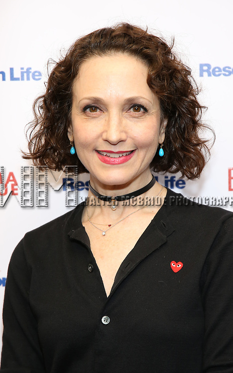 Bebe Neuwirth attends the 2017 Drama League Award Nominees Announcements at Sardi's on April 19, 2017 in New York City.