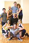 Back Row : Director Marshall Pailet, Wade McCollum, Lee Seymour, Alex Wyse & Lindsay Nicole Chambers.Front Row: Shelley Thomas, Brandon Espinoza & Claire Neumann.with the cast from 'Triassic Parq The Musical'  during a Sneak Peek Rehearsal at the CAP21 Studios in New York City on 5/30/2012. © Walter McBride/WM Photography / Retna Ltd.