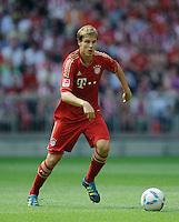 Fussball Bundesliga Saison 2011/2012 3. Spieltag FC Bayern Muenchen - Hamburger SV Holger BADSTUBER (FCB).