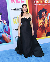 """07 August 2019 - Beverly Hills, California - Alicia Coppola. CBS All Access' """"Why Women Kill"""" Los Angeles Premiere held at The Wallis Annenberg Center for the Performing Arts.  <br /> CAP/ADM/BB<br /> ©BB/ADM/Capital Pictures"""