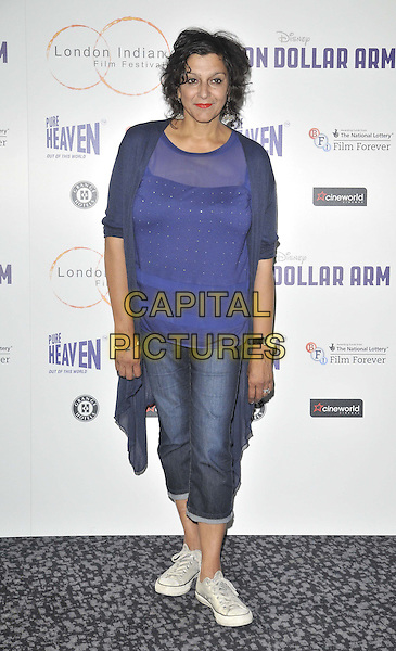 LONDON, ENGLAND - JULY 14: Meera Syal attends the London Indian Film Festival &quot;Million Dollar Arm&quot; UK film premiere, Cineworld Shaftesbury Avenue cinema, Coventry St., on Monday July 14, 2014 in London, England, UK. <br /> CAP/CAN<br /> &copy;Can Nguyen/Capital Pictures