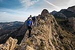 Cresta de les Coves,Cabeço d'Or, Busot, Alicante, Spain