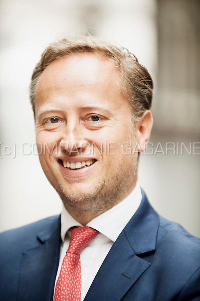 Pierre-Emmanuel Noel, senior banker at the European Investment Bank (Belgium, 10/05/2016)