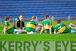 kerry players after the final whistle where Kerry lost to their Tipperary counterparts in the Munster Minor Semi Final in Thurles.
