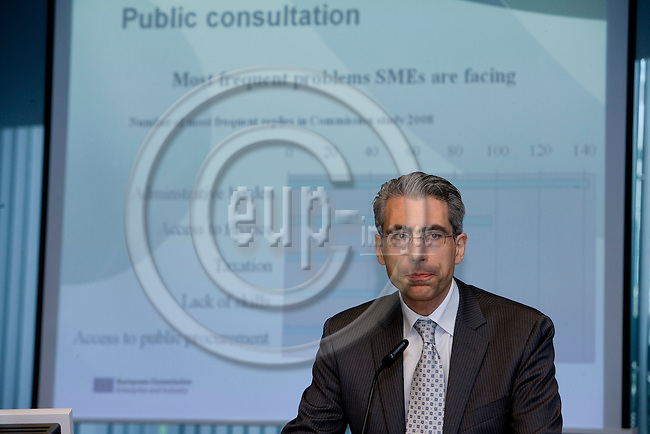 BRUSSELS - BELGIUM - 18 JUNE 2009 -- Simeon CHENEV, Policy Officer, DG Enterprise and Environment.   Photo: Erik Luntang/EUP-IMAGES