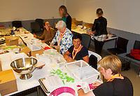 September 12, 2014, Netherlands, Amsterdam, Ziggo Dome, Davis Cup Netherlands-Croatia, Organisation office<br /> Photo: Tennisimages/Henk Koster
