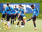 Nathan Oduwa on the ball