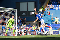 Luke Chambers of Ipswich Town just misses out on a tantalising cross during Ipswich Town vs Sunderland AFC, Sky Bet EFL League 1 Football at Portman Road on 10th August 2019