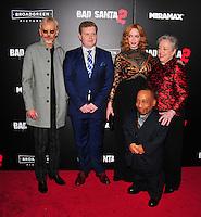 NEW YORK,NY November 015 : Billy Bob Thornton, Brett Kelly, Tony Cox, Christina Hendricks and Kathy Bates attend the 'Bad Santa 2' New York premiere at AMC Loews Lincoln Square 13 theater on November 15, 2016 in New York City...@John Palmer / Media Punch