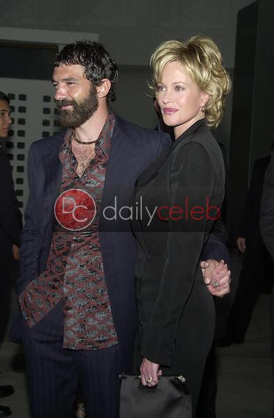 Antonio Banderas and wife Melanie Griffith