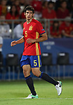 Spain's Jesus Vallejo in action during the UEFA Under 21 Final at the Stadion Cracovia in Krakow. Picture date 30th June 2017. Picture credit should read: David Klein/Sportimage