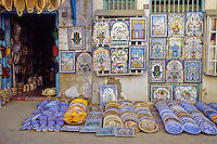Ceramics, Nabeul, Tunisia.  Wall Panels, Plates, Dishware for Sale.