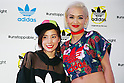 "Rita Ora, Riisa Naka, September 19, 2014 : (L to R) British singer, songwriter and actress Rita Ora and Japanese actress Riisa Naka pose for the cameras during the ""adidas Originals by Rita Ora"" launch on September 19, 2014 in Tokyo, Japan. (Photo by Rodrigo Reyes Marin/AFLO)"