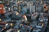 Monumento a la Revolucion. Aerial photos of Mexico City, Mexico