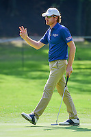 Roberto Castro (USA) after sinking his putt on 2 during round 1 of the World Golf Championships, Mexico, Club De Golf Chapultepec, Mexico City, Mexico. 3/2/2017.<br /> Picture: Golffile | Ken Murray<br /> <br /> <br /> All photo usage must carry mandatory copyright credit (&copy; Golffile | Ken Murray)