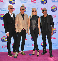 Gwen Stefani & No Doubt - Teen Choice Awards 2012