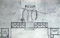 Thomas Jefferson: University of Virginia Plan, Detail: the Rotunda 1822.