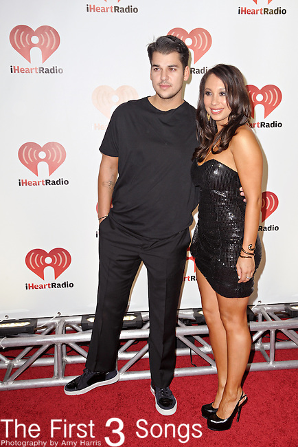 Cheryl Burke and Dancing with the Stars Season 13 partner Rob Kardashian attend the 2011 iHeartRadio Music Festival on September 24, 2011 at the MGM Grand Garden Arena in Las Vegas, Nevada.
