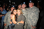 HOLLYWOOD, CA. - April 27: Eva Longoria Parker, Felicity Huffman and U.S. Soldiers arrive at her Fragrance Launch Event at Beso on April 27, 2010 in Hollywood, California.