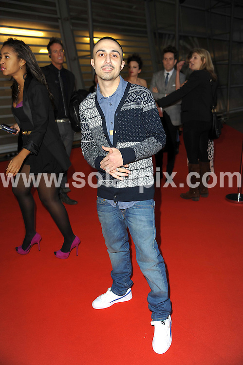 **ALL ROUND PICTURES FROM SOLARPIX.COM**                                             **WORLDWIDE SYNDICATION RIGHTS**                                                                                  Stars arrive at London's O2 Arena for the 2012 Brit Awards..This pic:   Adam Deacan                                                                                      JOB REF:    14495   MSR     DATE:   22.02.12                                                         **MUST CREDIT SOLARPIX.COM OR DOUBLE FEE WILL BE CHARGED**                                                                      **MUST AGREE FEE BEFORE ONLINE USAGE**                               **CALL US ON: +34 952 811 768 or LOW RATE FROM UK 0844 617 7637**