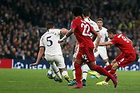 Robert Lewandowski of Bayern Munich scores the second goal during Tottenham Hotspur vs FC Bayern Munich, UEFA Champions League Football at Tottenham Hotspur Stadium on 1st October 2019