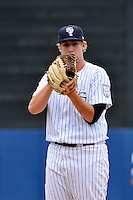 Staten Island Yankees pitcher Brett Gerritse #30 during a game against the Tri-City  Valley Cats at Richmond County Bank Ballpark at St. George on July 25, 2011 in Staten Island, NY.  Staten Island defeated Tri-City 2-1.  Tomasso DeRosa/Four Seam Images
