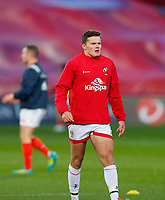 9th November 2019; Thomond Park, Limerick, Munster, Ireland; Guinness Pro 14 Rugby, Munster versus Ulster; Jacob Stockdale of Ulster warms up prior to kickoff - Editorial Use