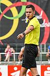01.08.2020, C-Team Arena, Ravensburg, GER, WFV-Pokal, FV Ravensburg vs SSV Ulm 1846 Fussball, <br /> DFL REGULATIONS PROHIBIT ANY USE OF PHOTOGRAPHS AS IMAGE SEQUENCES AND/OR QUASI-VIDEO, <br /> im Bild Schiedsrichter Asmir Osmanagic<br /> <br /> Foto © nordphoto / Hafner