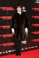 "Sara Vega attends ""La Ignorancia de la Sangre"" Premiere at Capitol Cinema in Madrid, Spain. November 13, 2014. (ALTERPHOTOS/Carlos Dafonte) /NortePhoto nortephoto@gmail.com"