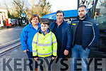 Attending the James Ashe Memorial Tractor Run in Boolteens on Sunday. <br /> L to r: Margaret Ashe, Dylan O'Connor, Francie Ashe and Stephen O'Connor.
