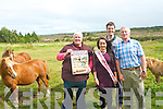 The annual Kerry Bog Pony and Sale takes place at the Red Fox Inn on Saturday, September 21st. <br /> L-R Anna McCarthy (vice chairman of the Kerry Bog Pony Society), Siobhan Clifford (Glenbeigh Festival Queen), Timmy Mulvihill (Proprietor of the Red Fox Inn) and John Mulvihill (PRO and president of the Kerry Bog Pony Society.