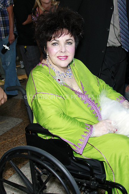 WWW.ACEPIXS.COM . . . . .  ..... . . . . US SALES ONLY . . . . .....March 23 2011, Los Angeles....Movie star Elizabeth Taylor died at the age of 79 of congestive heart failure at Cedars-Sinai Medical Center on March 23 2011 in Los Angeles....Please byline: FAMOUS-ACE PICTURES... . . . .  ....Ace Pictures, Inc:  ..Tel: (212) 243-8787..e-mail: info@acepixs.com..web: http://www.acepixs.com