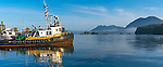 Tofino, British Columbia: Tofino harbor on Vancouver Island, Canada