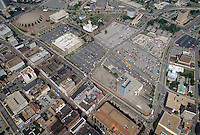 1993 May 28.Redevelopment..Macarthur Center.Downtown North (R-8)..LOOKING NORTHEAST WITH GRANBY STREET & CITY HALL AVENUE IN FOREGROUND...NEG#.NRHA#..