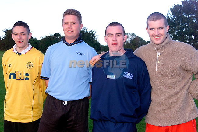 David McDonald, Shane Nugent, Stephen Delehan and Keith Lynch..Picture: Paul Mohan/Newsfile