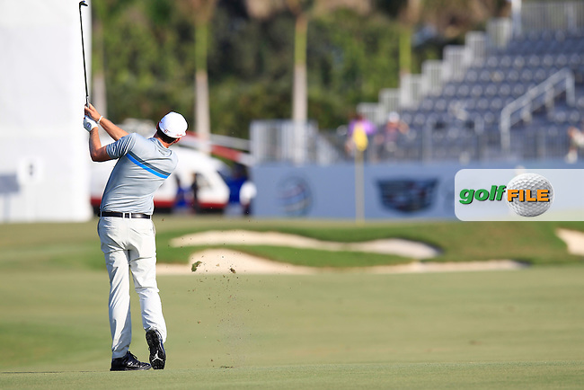 Keegan Bradley (USA) during the 2nd round at the WGC Cadillac Championship, Blue Monster, Trump National Doral, Doral, Florida, USA<br /> Picture: Fran Caffrey / Golffile