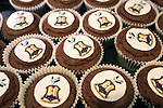 Cupcakes decorated with the Bradford club crest on offer in the media lounge ahead of kick off - Bradford City vs. Sunderland - FA Cup Fifth Round - Valley Parade - Bradford - 15/02/2015 Pic Philip Oldham/Sportimage