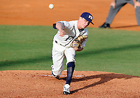 Florida International University right handed pitcher Eddy Pidermann (0) plays against the University of North Florida. FIU won the game 6-4 on March 13, 2012 at Miami, Florida.