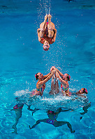 Canada.Thematic Team event Day02 - Dec. 1st.7th FINA Synchronized Swimming  World Trophy.Mexico City MEX - Nov. 30th, Dec. 2nd, 2012.Photo G.Scala/Deepbluemedia/Inside .Nuoto Sincronizzato