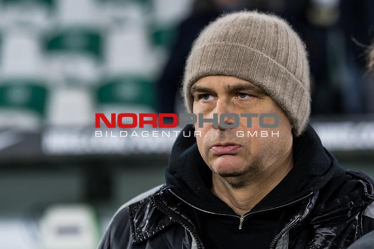01.12.2019, Volkswagen Arena, Wolfsburg, GER, 1.FBL, VfL Wolfsburg vs SV Werder Bremen<br /> <br /> DFL REGULATIONS PROHIBIT ANY USE OF PHOTOGRAPHS AS IMAGE SEQUENCES AND/OR QUASI-VIDEO.<br /> <br /> im Bild / picture shows<br /> Klaus Filbry (Vorsitzender der Geschäftsführung / Kaufmännischer Geschäftsführer SV Werder Bremen), <br /> <br /> Foto © nordphoto / Ewert