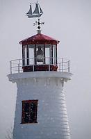 Amérique/Amérique du Nord/Canada/Quebec/Ile-aux-Coudres : Le phare