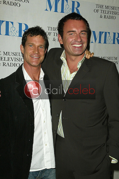Dylan Walsh and Julian McMahon<br />