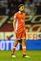 Blackpool's Clark Robertson looks on<br /> <br /> Photographer Richard Martin-Roberts/CameraSport<br /> <br /> The EFL Sky Bet League One - Wigan Athletic v Blackpool - Tuesday 13th February 2018 - DW Stadium - Wigan<br /> <br /> World Copyright &not;&copy; 2018 CameraSport. All rights reserved. 43 Linden Ave. Countesthorpe. Leicester. England. LE8 5PG - Tel: +44 (0) 116 277 4147 - admin@camerasport.com - www.camerasport.com