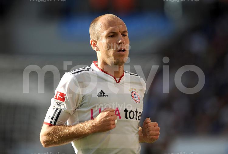 Fussball 1. Bundesliga :  Saison   2011/2012   8. Spieltag  01.10.2011 1899 TSG Hoffenheim - FC Bayern Muenchen Arjen Robben (FC Bayern Muenchen)