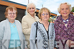 LADY'S WELL: Enjoying the Pattern day Mass at our Lady's Well in Ballyheigue on Monday l-r: Anna Douglas, Reidy Terrace, Ena Healy, Spa Road, Brenie Roche, Connolly Park and Patsy Griffin, Spa Road.   Copyright Kerry's Eye 2008