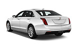Car pictures of rear three quarter view of 2017 Cadillac CT6 RWD 4 Door Sedan Angular Rear