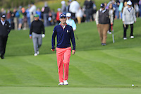Smylie Kaufman (USA) walks to the 5th green at Pebble Beach Golf Links during Saturday's Round 3 of the 2017 AT&amp;T Pebble Beach Pro-Am held over 3 courses, Pebble Beach, Spyglass Hill and Monterey Penninsula Country Club, Monterey, California, USA. 11th February 2017.<br /> Picture: Eoin Clarke | Golffile<br /> <br /> <br /> All photos usage must carry mandatory copyright credit (&copy; Golffile | Eoin Clarke)