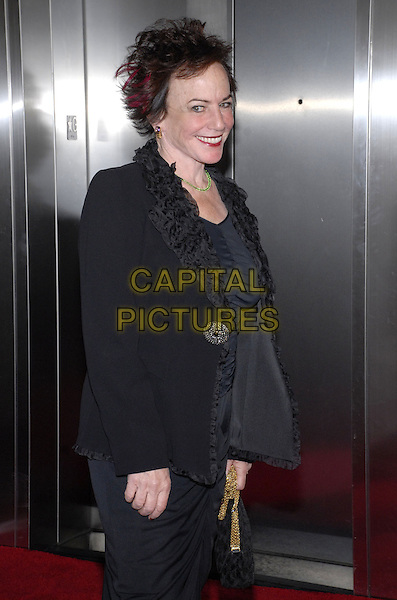 """FAITH POPCORN.Attending Events of the Heart, a non-profit organization co-founded by Pamela Serure and Carole Isenberg, holds its first annual fundraising gala entitled """"Heart On!"""" at Jazz at Lincoln Center, New York City, NY, USA, 1 October 2007.half length black.CAP/ADM/BL.©Bill Lyons/Admedia/Capital Pictures *** Local Caption ***"""