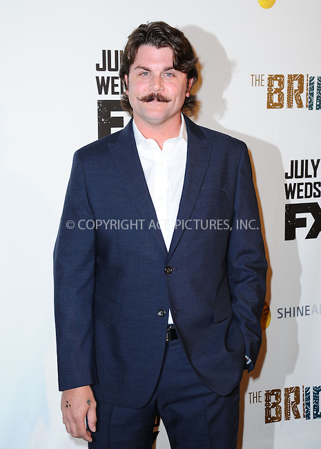 WWW.ACEPIXS.COM<br /> <br /> July 8 2013, LA<br /> <br /> Johnny Dowers arriving at the series premiere of FX's 'The Bridge' at DGA Theater on July 8, 2013 in Los Angeles, California. <br /> <br /> By Line: Peter West/ACE Pictures<br /> <br /> <br /> ACE Pictures, Inc.<br /> tel: 646 769 0430<br /> Email: info@acepixs.com<br /> www.acepixs.com
